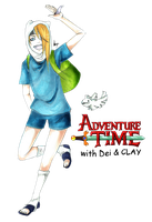Adventure Time! Crossover by GreatMessiah