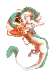 Got Spirited Away by chirpeax