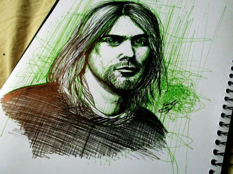Cobain by aporcelana