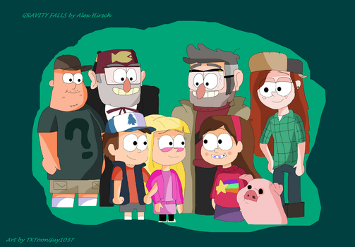 Gravity Falls - The Mystery Shack Crew by TXToonGuy1037