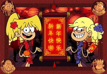 [MM] 'LOUD HOUSE' Style: Happy CHINESE New Year! by MAST3R-RAINB0W