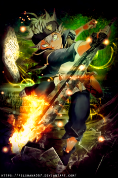 Black Clover By Pslshana567 On Deviantart