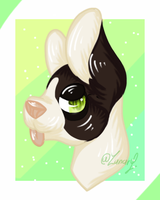 Headshort Commission (6/10) by Zunary