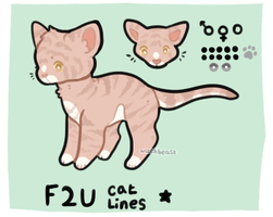 f2u cat base (png, sai, psd) by morytha
