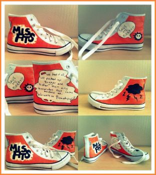 Misfits Shoes. by pandaen