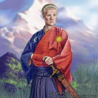 Brienne / Kimono of House Tarth by yagihikaru