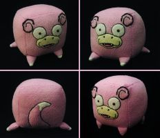 Slowpoke Cube Plush