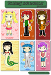 FK Chinese Zodiac - Girl Ver. by flynfreako