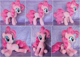 New Pinkie Plushie by ButtercupBabyPPG