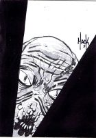 War of the Worlds sketchcard 11 by RobertHack