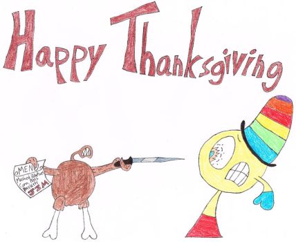 Happy Thanksgiving (Color) by thecrazyworldofjack