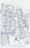 Dirk Gently: The Salmon of Doubt #4 cover pencils by RobertHack