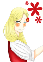 [APH] Do You Like Flowers? by likealoch
