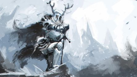 winterlord (sketch) by Pizza-Surgeon