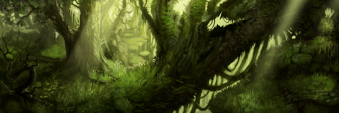 Forest Concept2 by NukeRooster