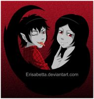 Marshall and Marceline by Erisabetta