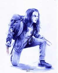 Laura Kinney ( Dafne Keen) - Logan Movie by LouizSantana