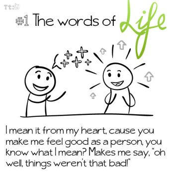 #1.0 the words of life by senkei