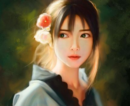 Chinese-Girl by YueQing