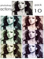 Photoshop Actions - Pack 10 by Lune-Tutorials