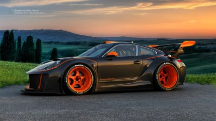 Porsche HURRICANE by ThebianConcepts by mcmercslr