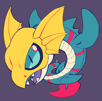 seadramon by extyrannomon