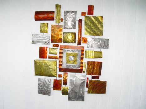 Abstract Squares by GreatLakesMetalWorks