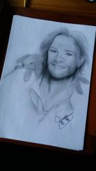 Jared with a Bunny by Haru-Barton