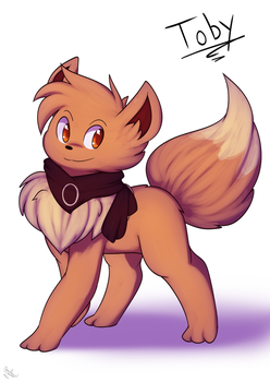 Toby the Eeevee by Xael-The-Artist