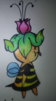 bee fairy thing by nerdling18