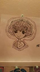 curly haired girl  by ObeyEbion