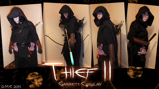 Thief II: Garrett Cosplay by tavington