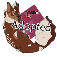 [CLOSED]  Fox Amino Adopt: TripleLayer Cake by Takarti