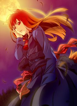 Fan Art : Spice and Wolf by zpolice