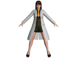 DOA5 LR Leifang School outfit by zareef