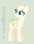 | Base 07 ' I drew a eyebrows crooked' by K-amiiBases