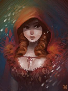 Red Riding Hood by rianbowart