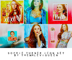 sophie turner icon set by TheMaleviQueen