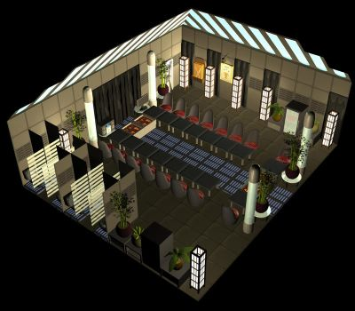 Restaurant City 3D by froggy-hicks