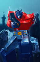Optimus Prime by Decepticoin