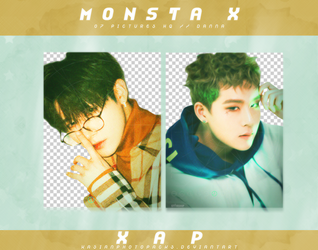 Pack Png 340 // MONSTA X (THE CONNECT - DEJA VU). by xAsianPhotopacks
