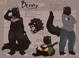 Benny ref sheet by TODD-NET