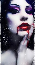 Bloody Kiss by CitrineAngel