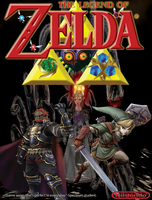 the legend of zelda photoshop poster by fanis01