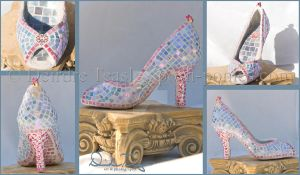 Pretty Princess Mosaic Shoe by Deirdre-T