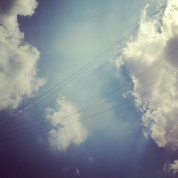 Clouds N Wires by MOOZEAZZY