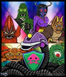 MST3K Gypsy and Her Monster Minions by earthbaragon