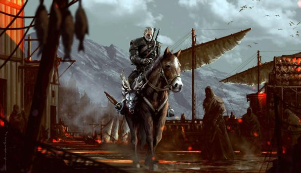 The Witcher 3: Wild Hunt by omertunc