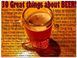 30 great thing about beer by Security16