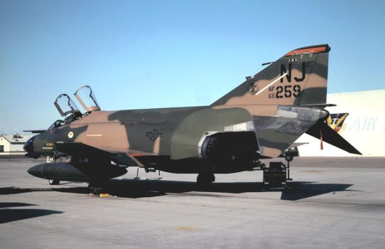 F-4D in 'Wraparound' No. 6 by F16CrewChief